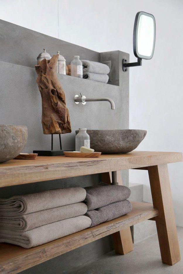 Rustikale Küchen Selber Bauen Unglaublich Sommer Auf Syros von Waschbecken Aus Holz Selber Bauen Bild