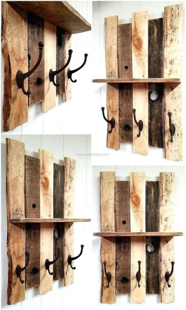 Rustikales Holz Bucherregal Regal Stein – Walkyfresh von Rustikales Regal Selber Bauen Bild