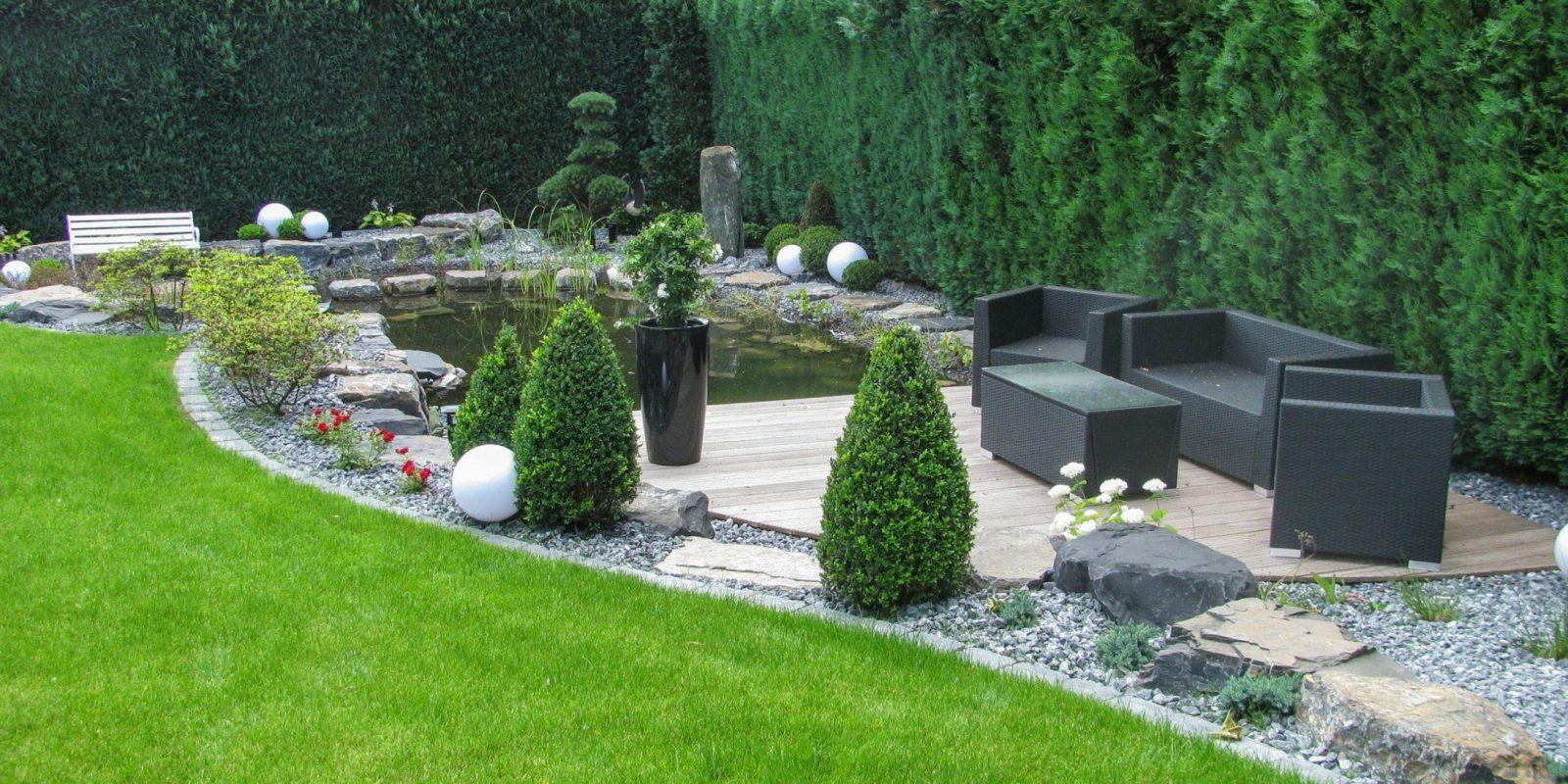 Sallermann  Leistungen von Gartengestaltung Mit Kies Und Splitt Bild