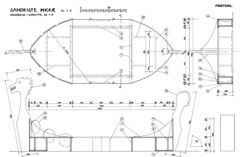Sandkasten Bauen – Bauanleitung Für Einen Sandkasten von Wikinger Möbel Selber Bauen Photo