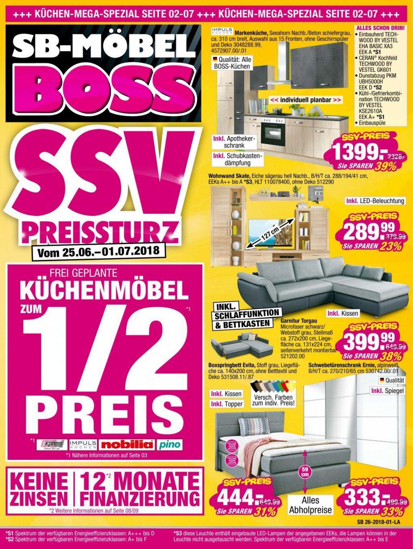 Sb Möbel Boss Prospekte In Osnabrück  Angebote Mit Aktionen von Möbel Boss Kassel Öffnungszeiten Bild