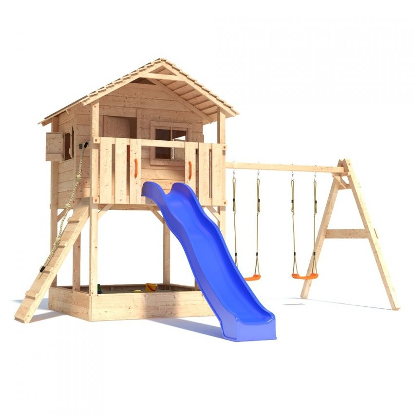 Schaukel Mit Rutsche Und Haus Pv22 – Hitoiro Von Spielturm Mit von Baumhaus Mit Rutsche Und Schaukel Bild