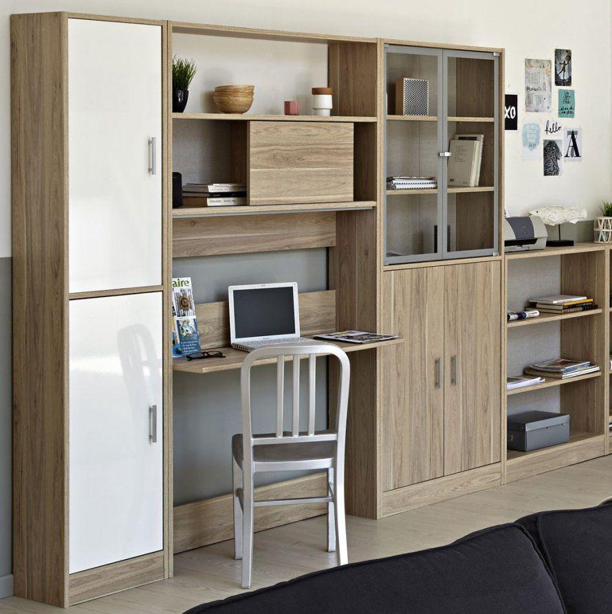 Schlafzimmer Mit Eingebautem Schreibtisch Exquisit On Nett Wohnwand von Wohnwand Mit Integriertem Kleiderschrank Bild