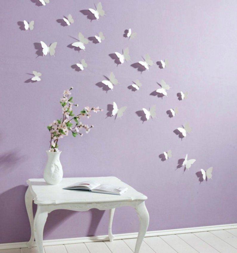 Schmetterlinge Wanddeko Schmetterling 3D Wanddekoration Selber von Schmetterlinge Wanddeko Selber Machen Photo