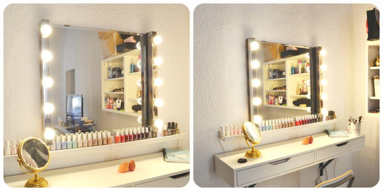 Schminktisch Beleuchtung von Schminktisch Mit Spiegel Und Beleuchtung Ikea Photo