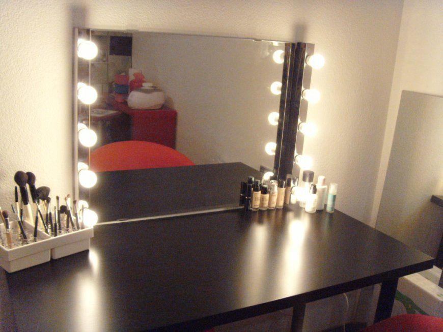 Schminktisch Mit Spiegel Und Beleuchtung Selber Bauen Theater Hemnes von Spiegel Mit Beleuchtung Fuer Schminktisch Photo