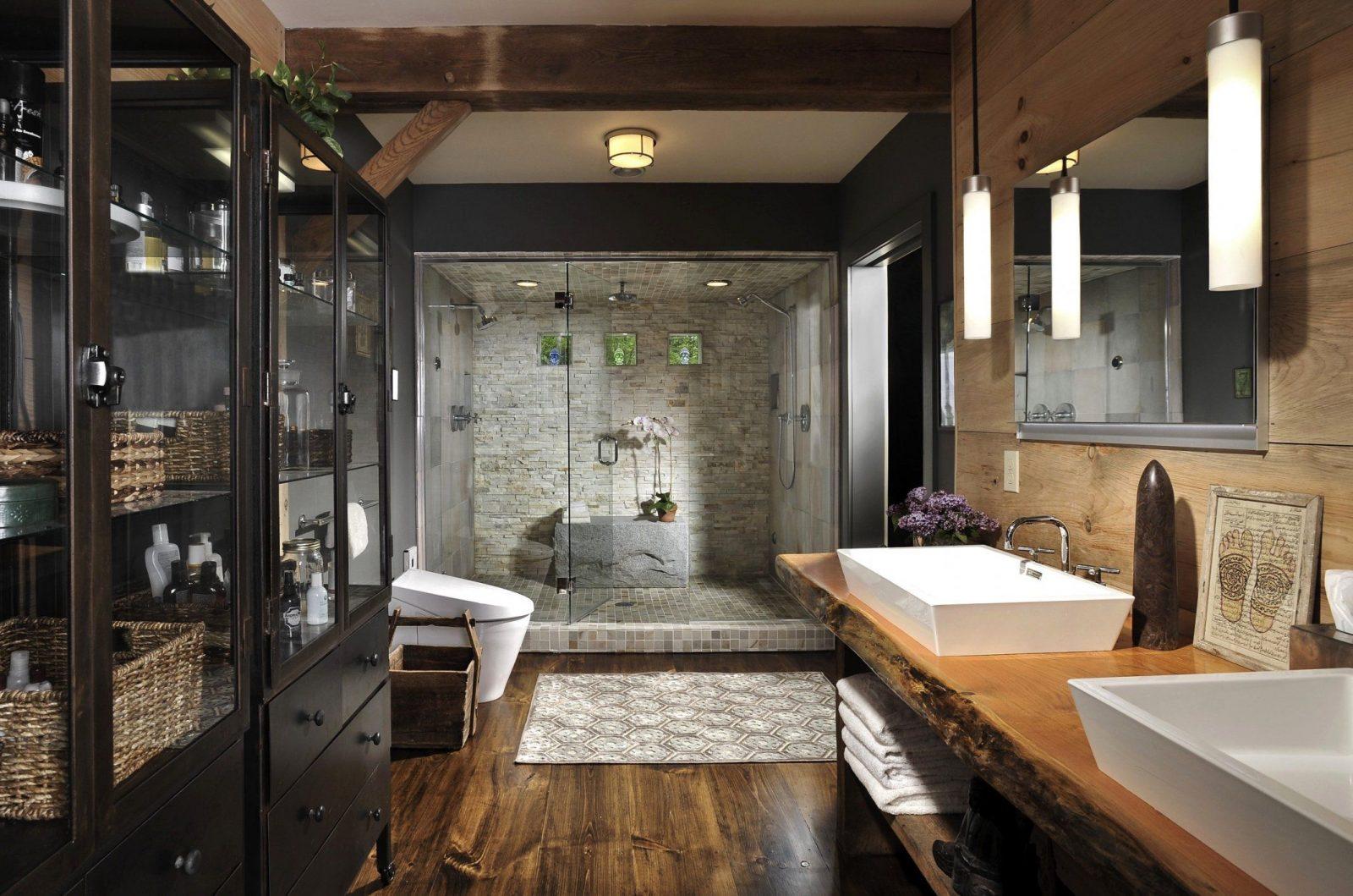 Schöne Badezimmer Holz Waschtisch 43 Badezimmer Ideen Holz von Badezimmer Ideen Mit Holz Bild