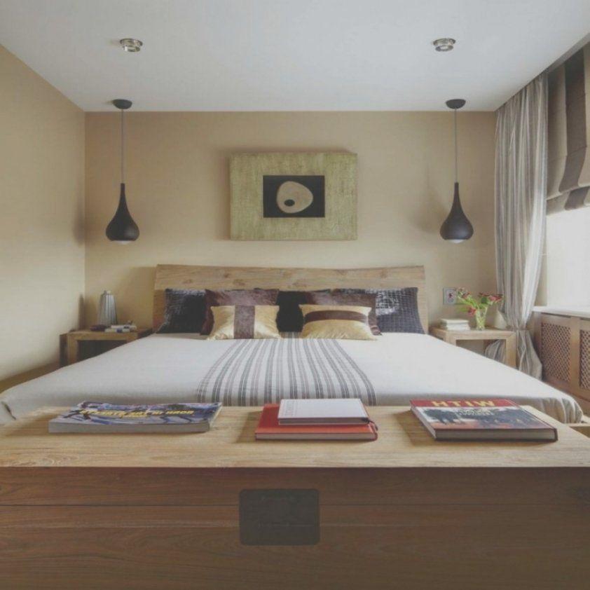 Schöne Elegant Kleines Schlafzimmer Einrichten Bilder Bild Über Bett von Kleines Schlafzimmer Einrichten Beispiele Photo