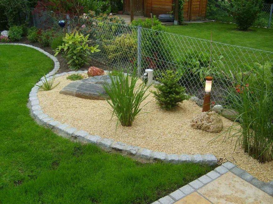 Schöne Gartengestaltung Mit Kies Und Steinen Garten Mit Steine von Garten Mit Steinen Gestalten Photo