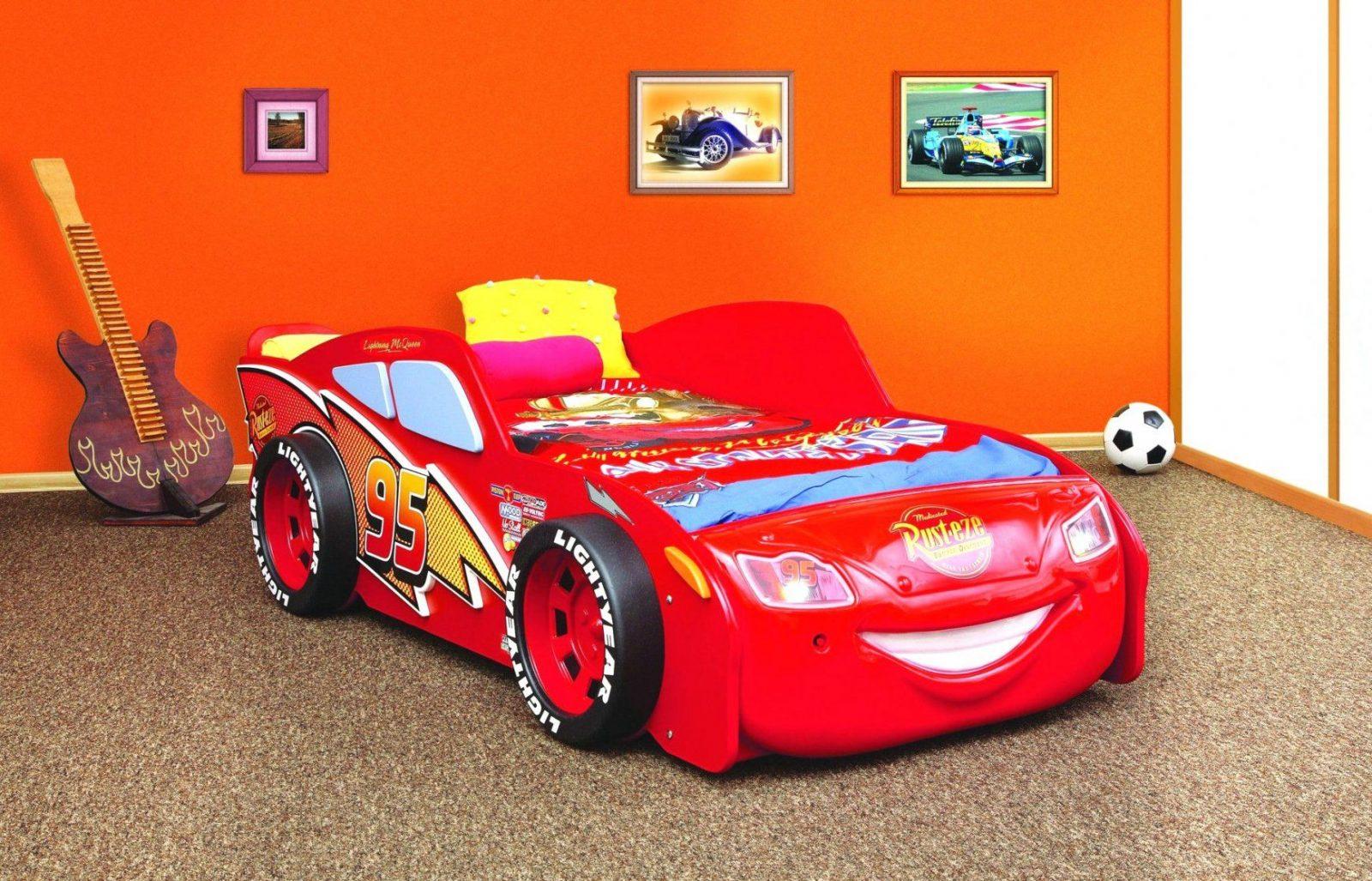 Schöne Ideen Rennwagen Bett Selber Bauen Und Disney Car Lightning von Kinderbett Selber Bauen Auto Bild