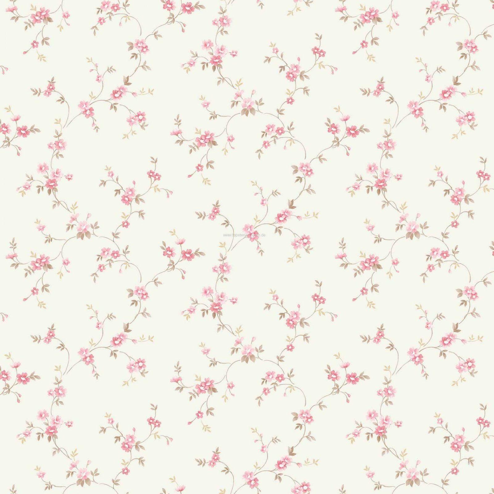 Schöne Ideen Tapete Blümchen Landhausstil Und Fantastische von Tapete Landhaus Floral Blümchen Bild
