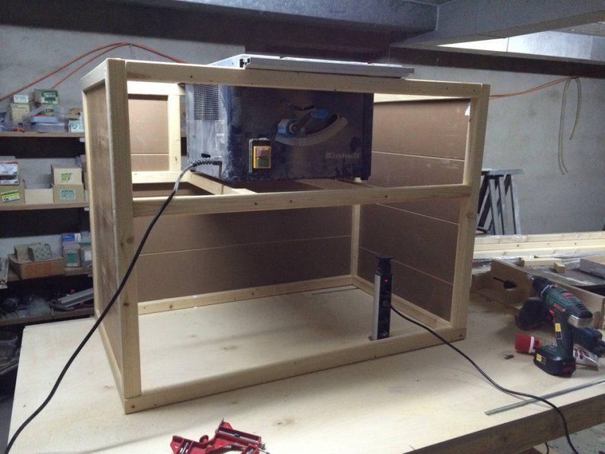 Schöne Untergestell Tisch Selber Bauen Integration Der Tischkreissge von Untergestell Tisch Selber Bauen Bild