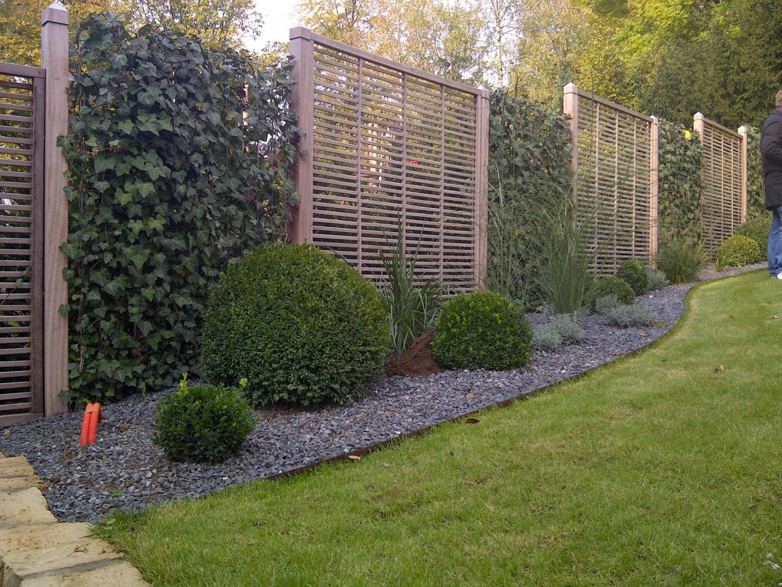 Schöner Sichtschutz Für Den Garten Einfach Wpc Sichtschutz von Schöner Sichtschutz Für Den Garten Photo