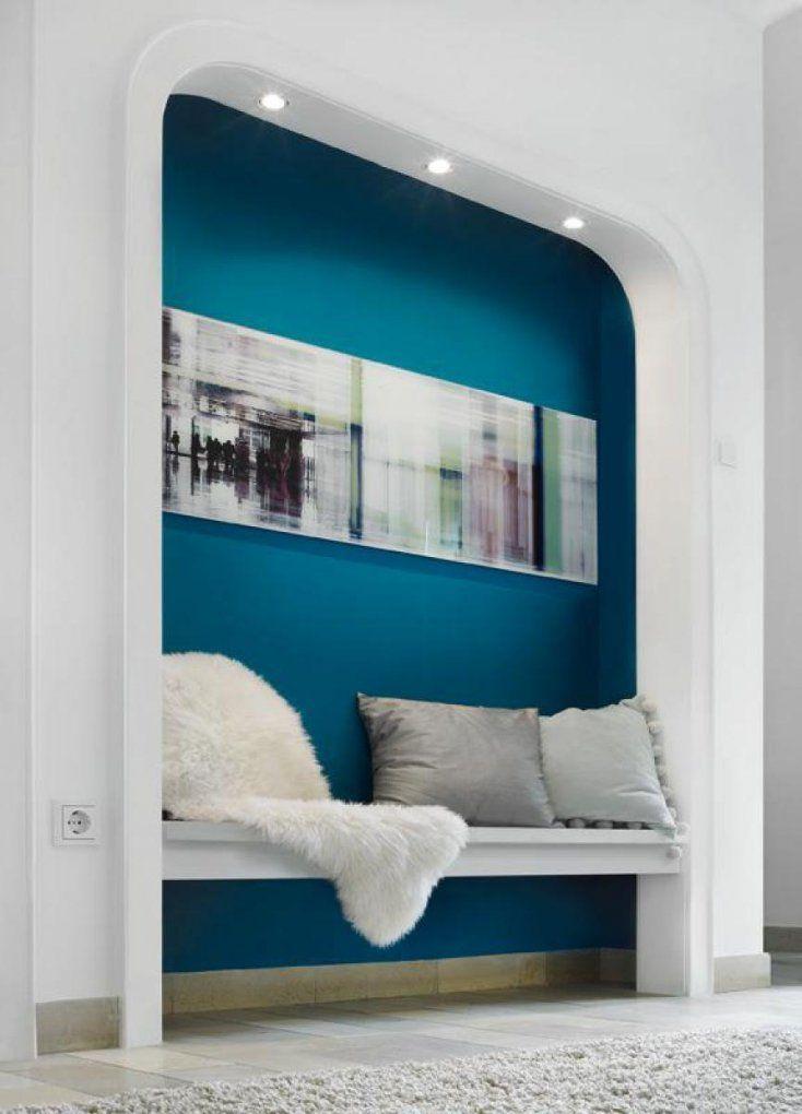 Schöner Wohnen Trendfarbe Wandfarbe Deckenfarbe Lagune Farbtontester von Schöner Wohnen Farbe Petrol Photo