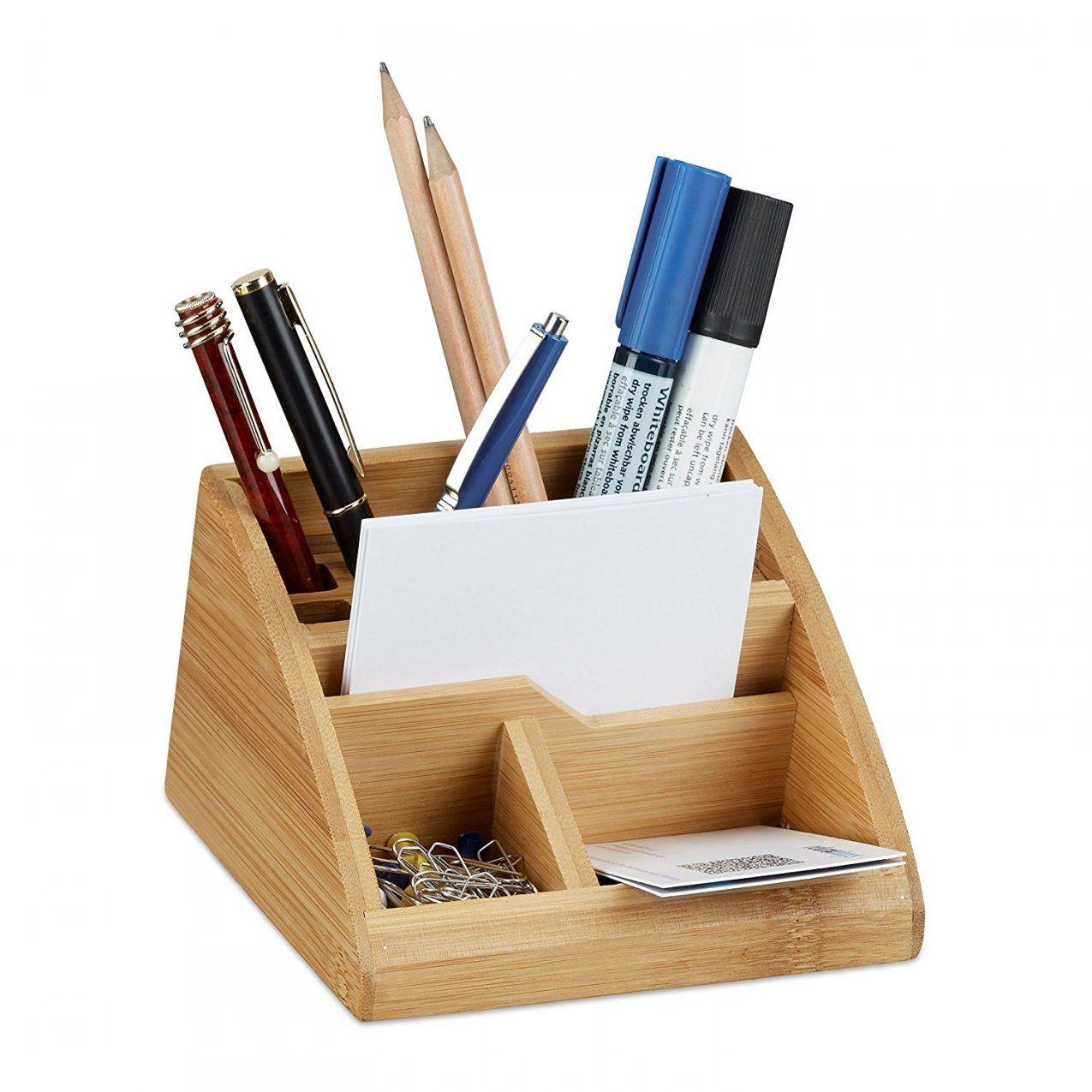 Schreibtisch Organizer Holz Inspirierend Ideen Betreffend von Stiftehalter Holz Selber Bauen Photo