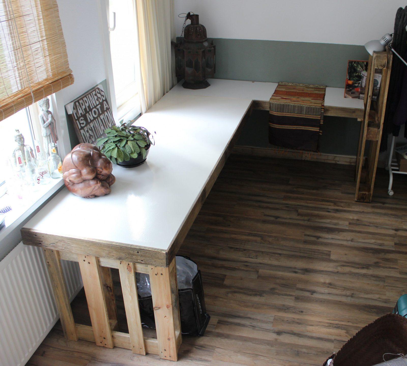 Schreibtisch Selber Bauen  55 Ideen  Freshouse von Schreibtisch Regal Selber Bauen Photo