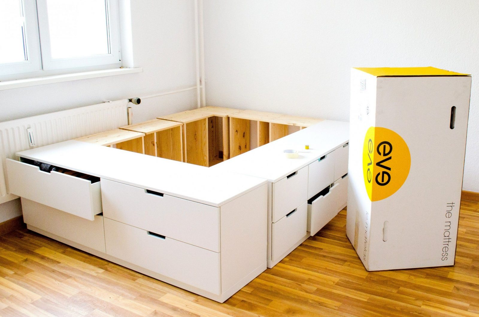 Schubkasten Selber Bauen Schön Interessant Diy Ikea Hack Plattform von Plattform Bett Selber Bauen Bild