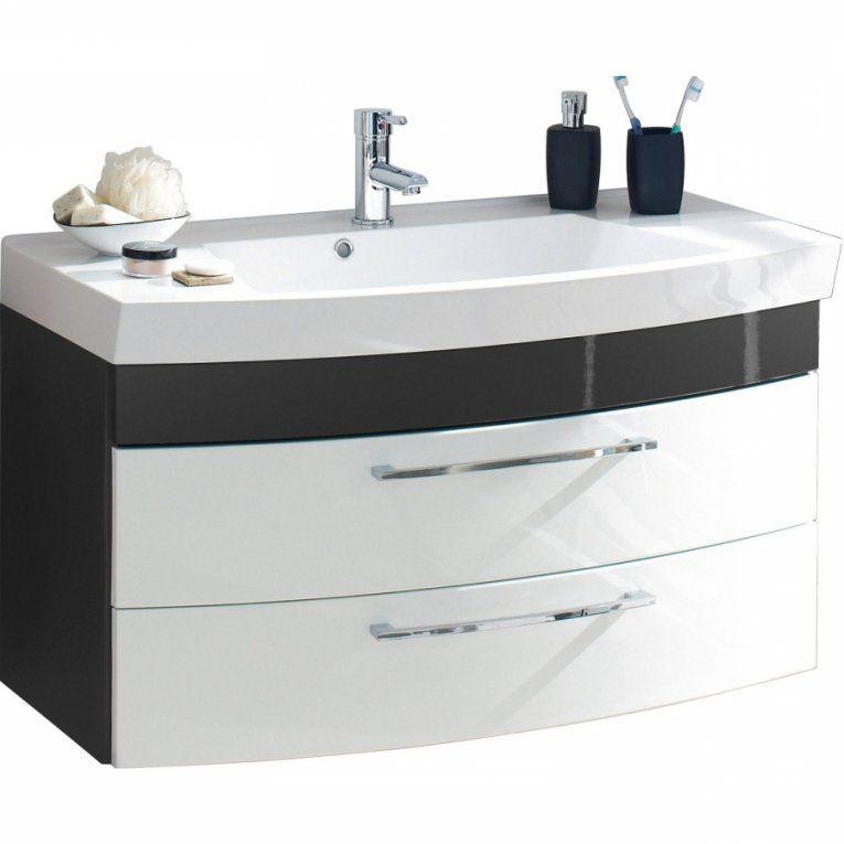 Schublade Gäste Wc Waschtisch Mit Unterschrank 70 Cm  Waschtisch von Waschbecken Mit Unterschrank 70 Cm Breit Photo
