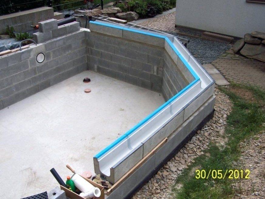Schwimmbecken Selber Bauen Elegantes Glasfaser Pool Performal For von Pool Selber Bauen Billig Bild
