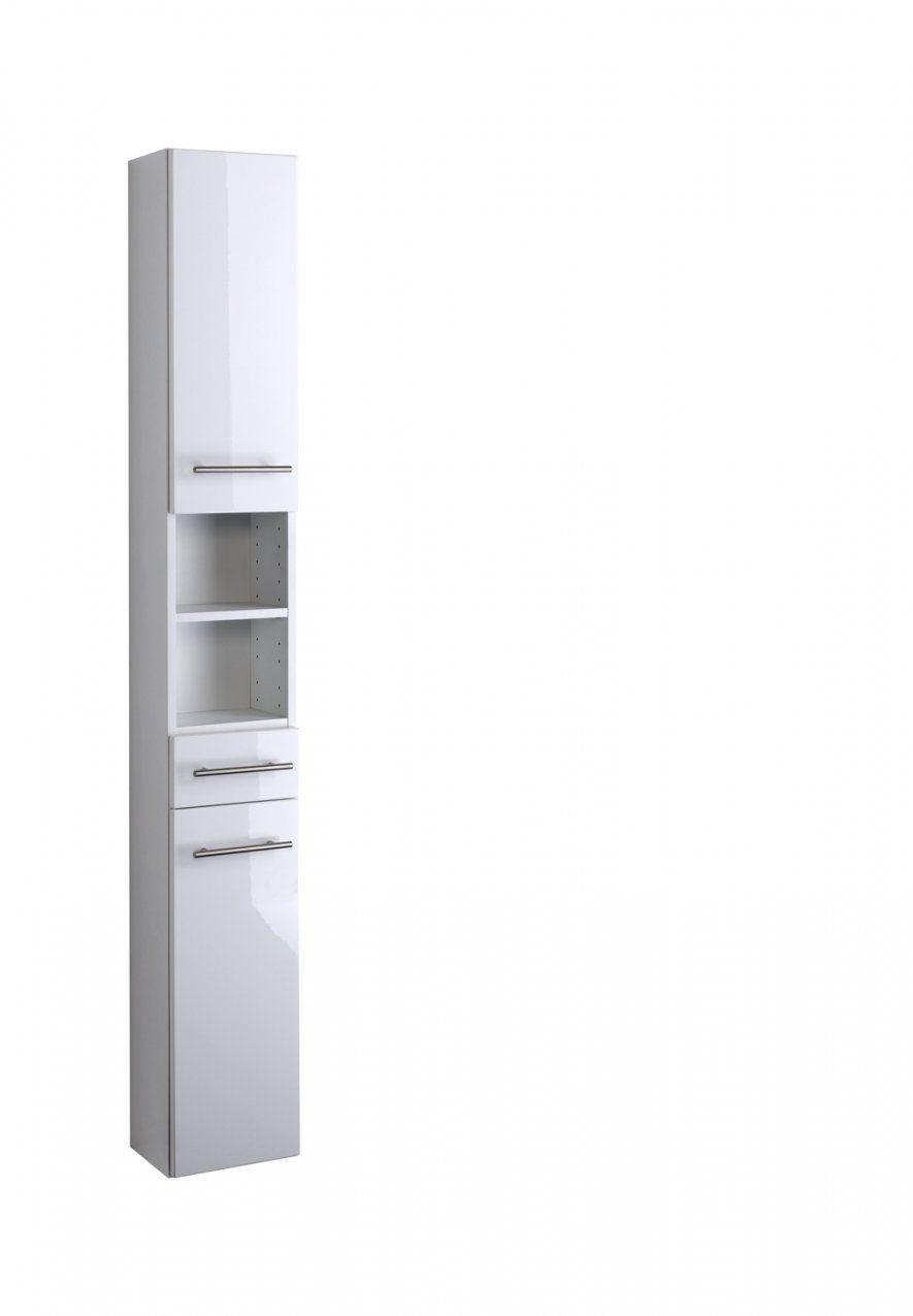 Seitenschrank 25 Parma Von Held Möbel Weiß von Bad Hochschrank Hochglanz Weiß Bild