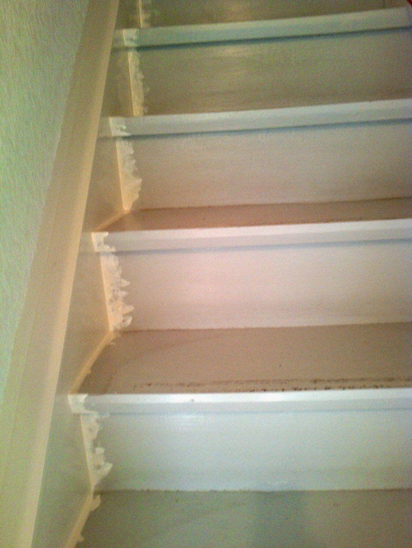 Selber Machen Alte Treppen Mit Laminatsystemen Verkleiden von Holztreppe Streichen Welcher Lack Bild