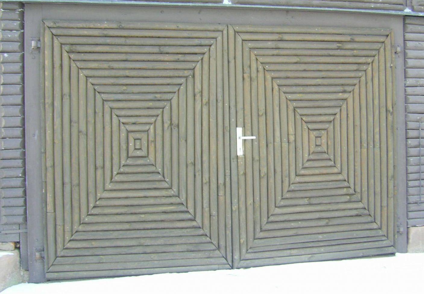 Selbstbau Garagentor  Gestaltungsideen von Garagentor Holz Selber Bauen Photo