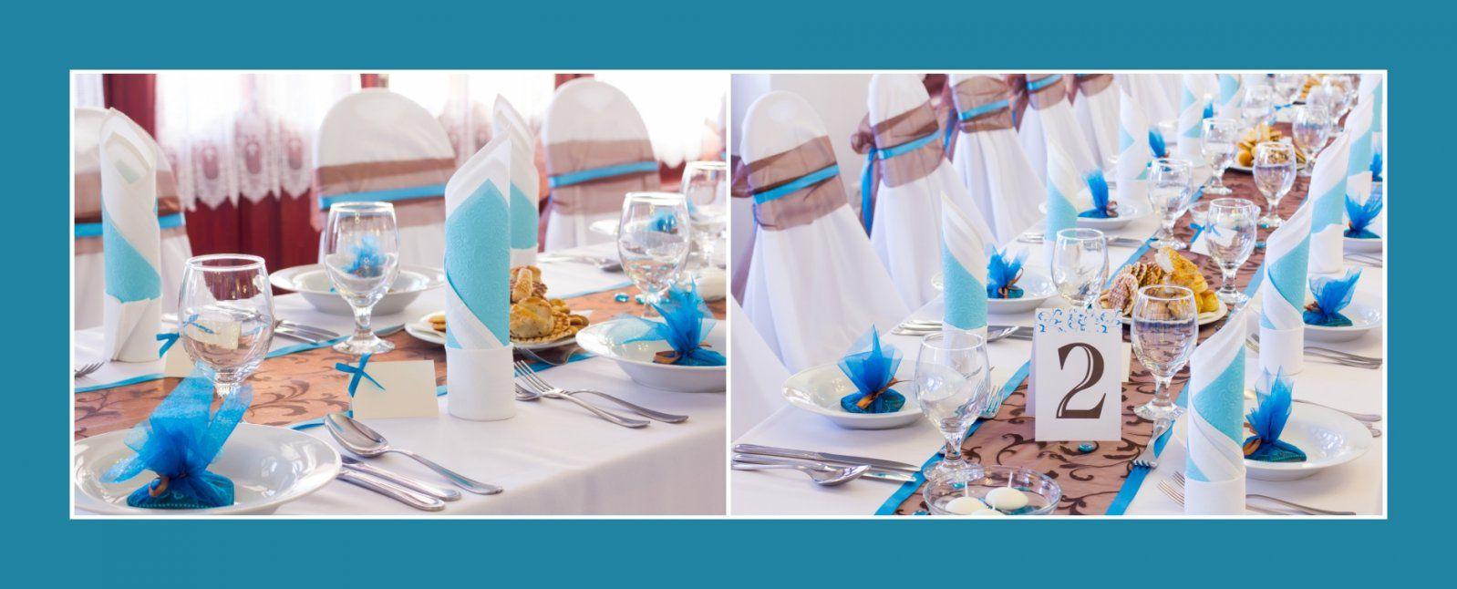 Servietten Falten  Hochzeitsdekotips von Servietten Falten Hochzeit Zweifarbig Bild