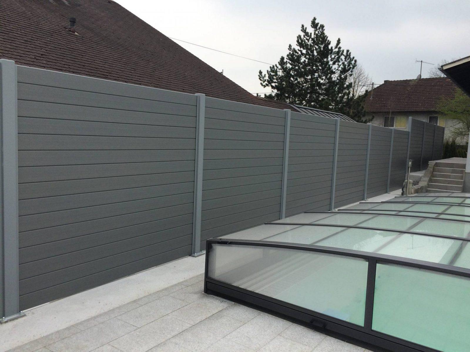 Sichtschutz Garten Wpc Inspirierend Herrlich Sichtschutz Garten Von von Sichtschutz Garten Kunststoff Grau Bild