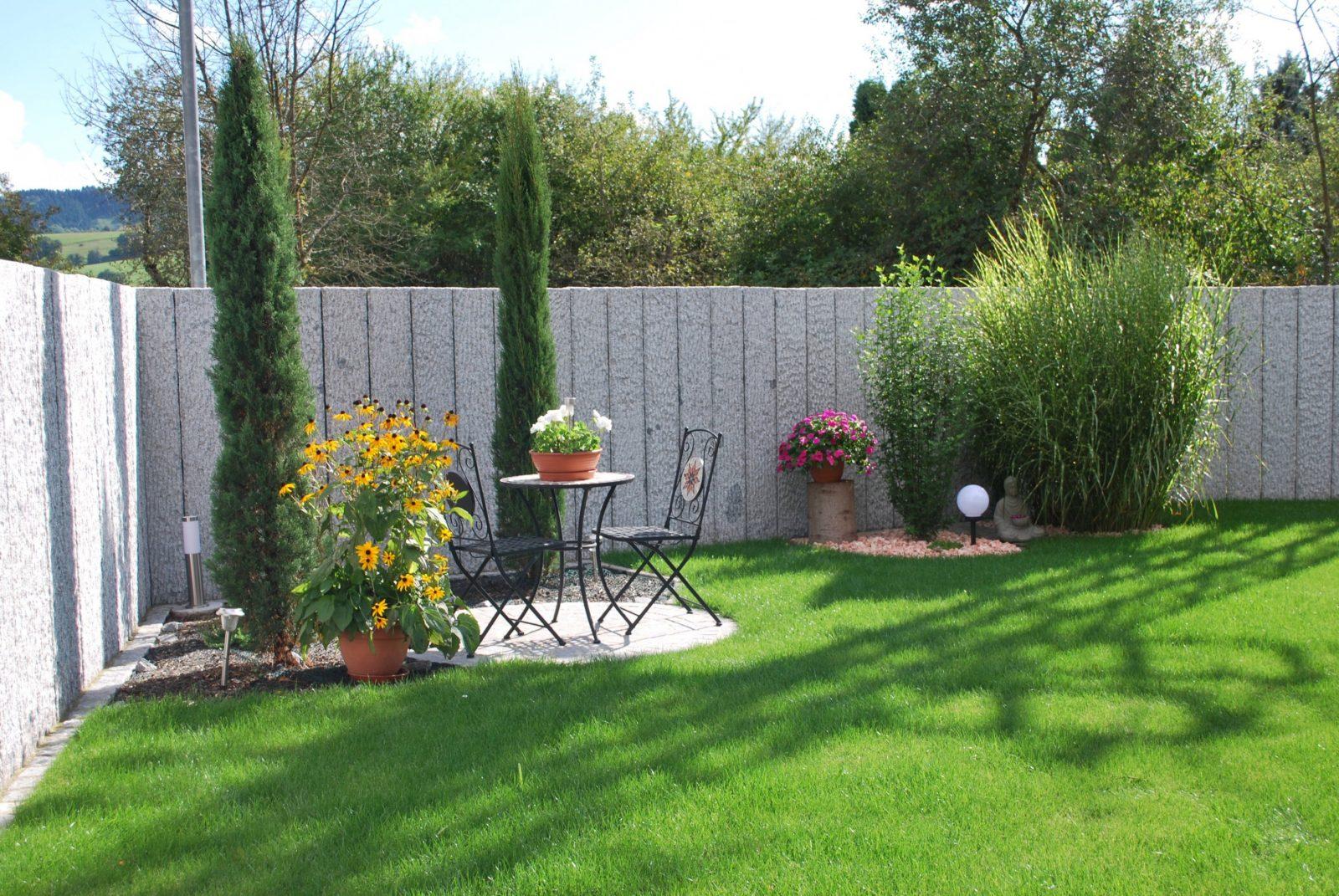 Glaszaun Fur Garten Und Terrasse Von Sichtschutz Zum Nachbarn Wie