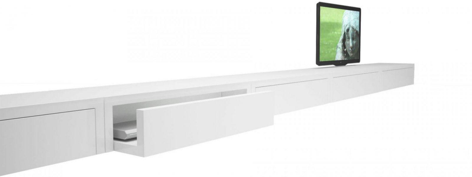 Sideboard Repositio – Puristisches Designsideboard Von Rechteck von Sideboard Weiß Hochglanz Hängend Photo