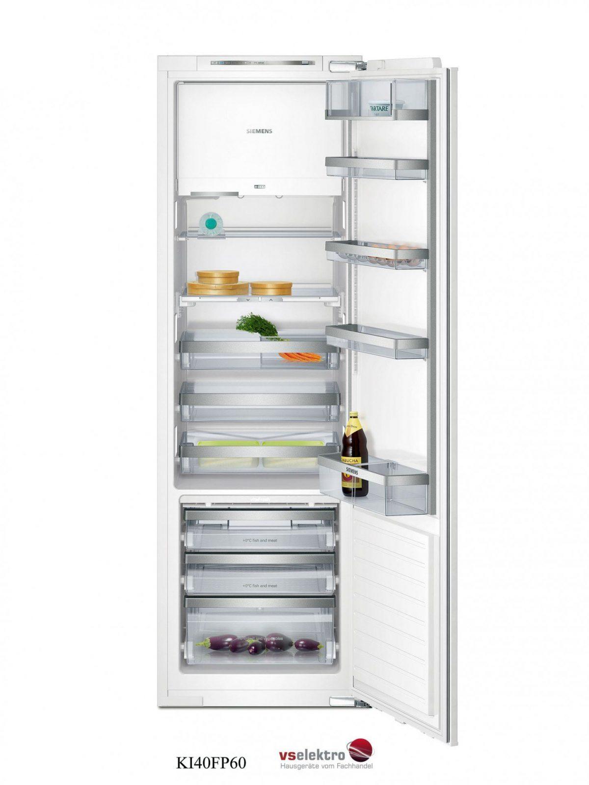 Siemens Einbaukühlschrank Ki40Fp60 Mit Vitafresh Und Integriertem von Einbaukühlschrank Ohne Gefrierfach 178 Cm Bild