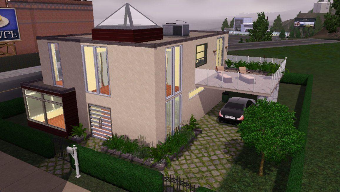 Simcosmos  Häuser Sims Und Andere Kreationen — The Sims German von Sims 4 Häuser Zum Nachbauen Bild