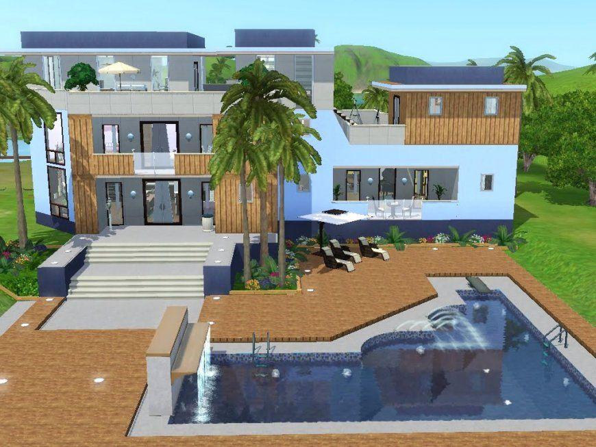 Sims 2 Häuser Ideen Avec Sims 2 Ideen Et Sims 3 Haus Bauen Let S von Sims 4 Häuser Zum Nachbauen Bild