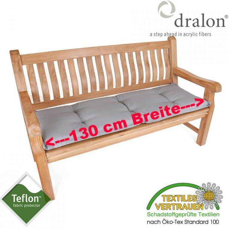 Sitzkissen Für 2Sitzer Gartenbank Bankauflage 130 Cm Breit Sehr von Gartenbank Auflage 130 Cm Bild