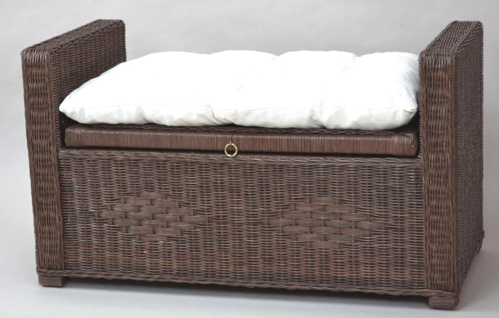 Sitztruhe Rattan Preisgünstig Online Kaufen Ihr Möbel Und Matratzen von Rattan Sitzbank Mit Stauraum Photo