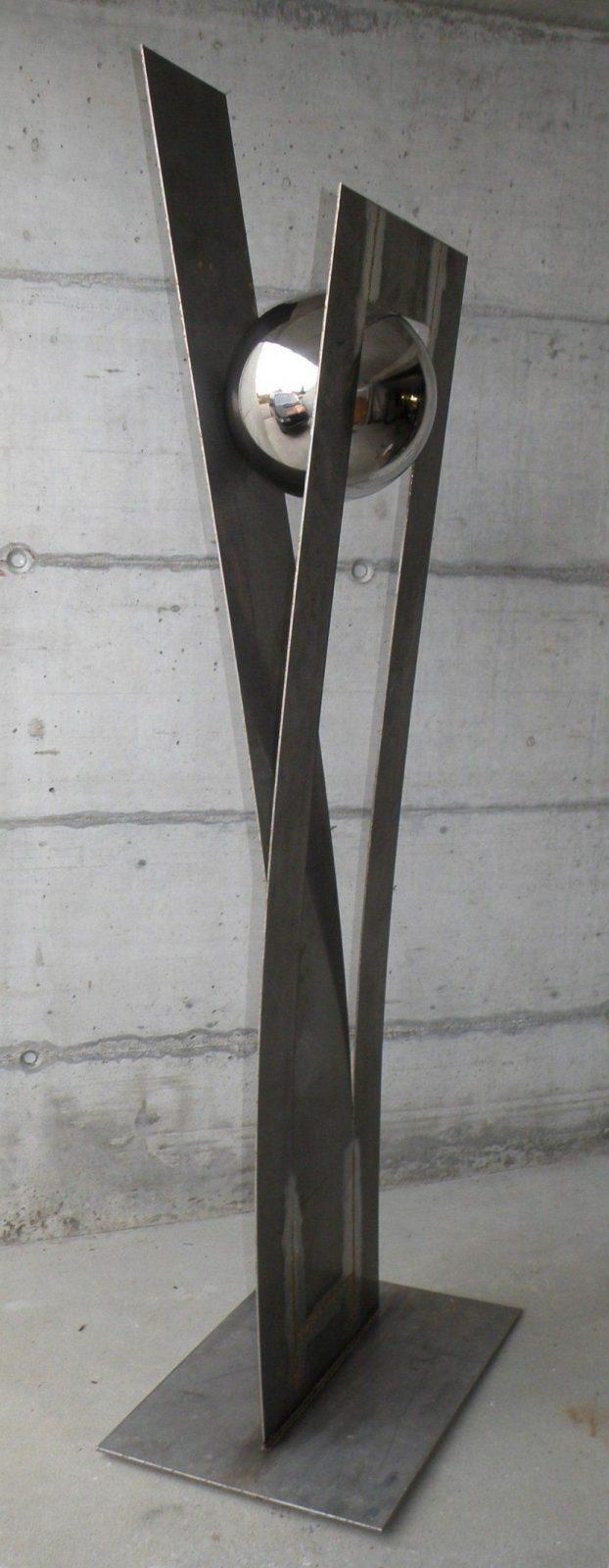 Skulpturen  Garten  Pinterest  Skulptur Metall Und Kunst Aus Metall von Skulpturen Aus Metall Für Den Garten Bild