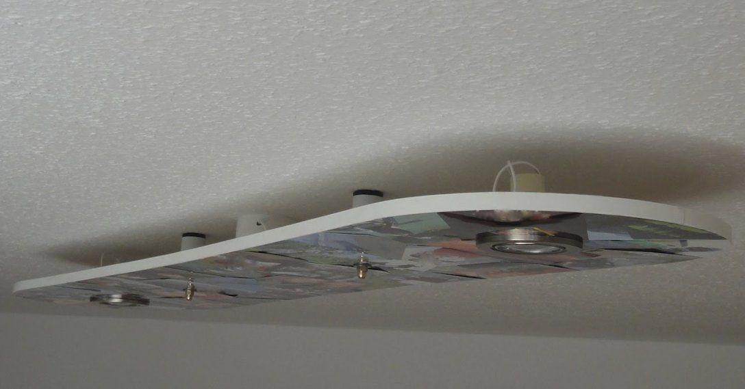 Snowboardleuchte Led Deckenleuchte Selber Machen  Youtube von Led Deckenlampe Selber Bauen Photo