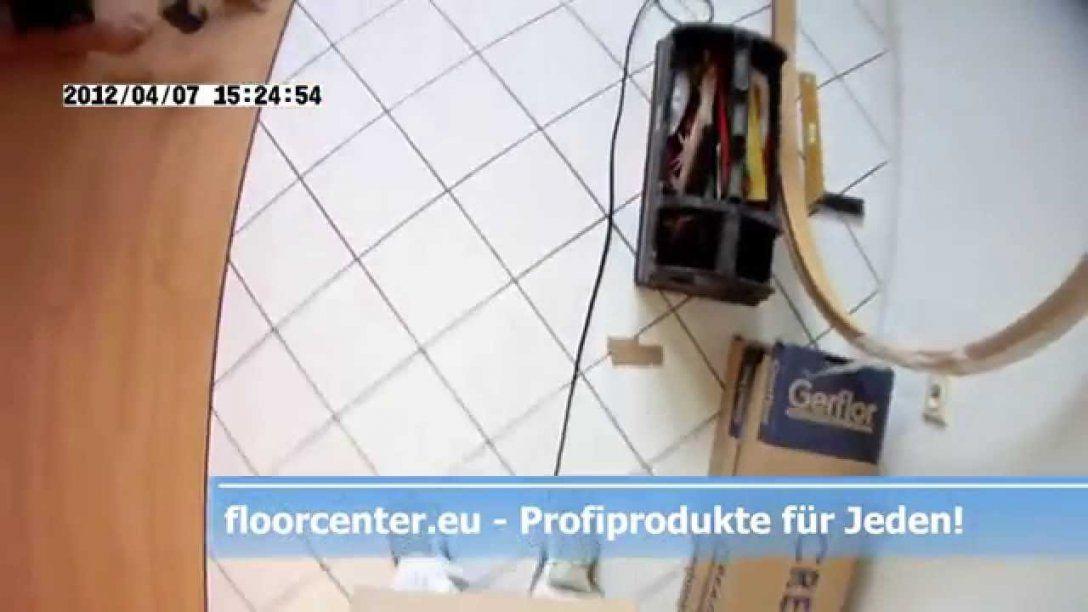 So Geht's Vinylboden Auf Fliesen Küchen Boden Creation Clic System von Vinylboden Auf Fliesen Mit Fussbodenheizung Verlegen Photo