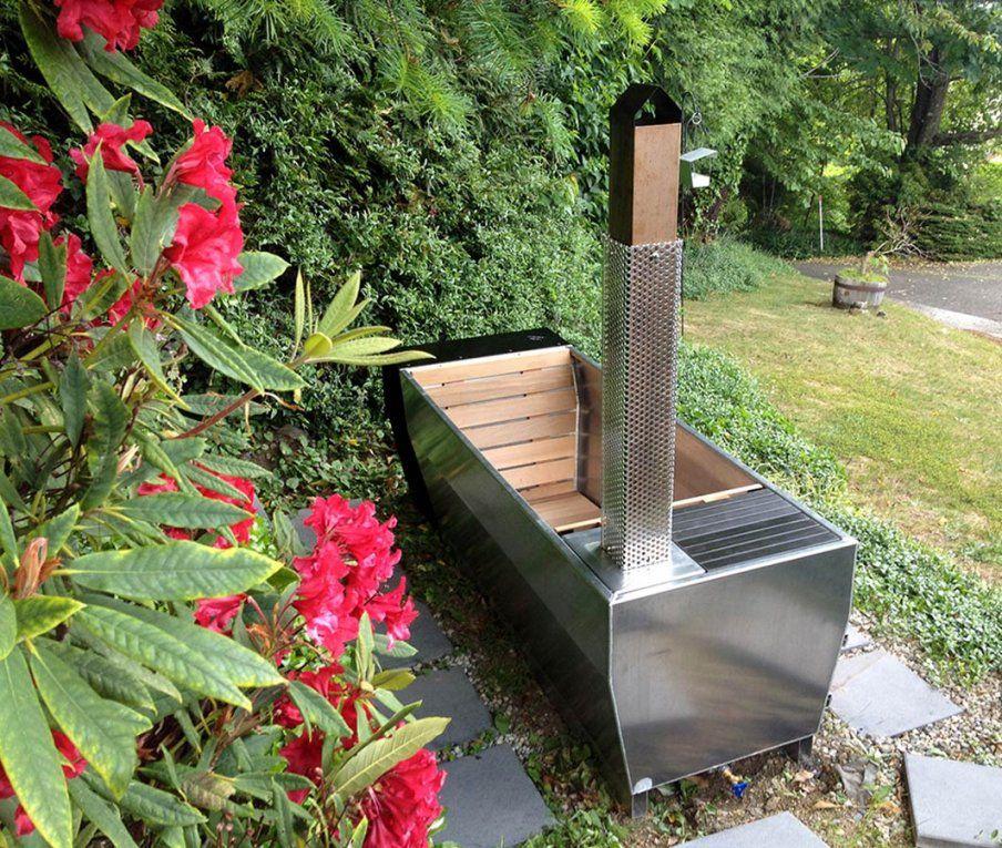 Soak – Beheizte Außenbadewanne  Heldth von Badewanne Für Den Garten Photo