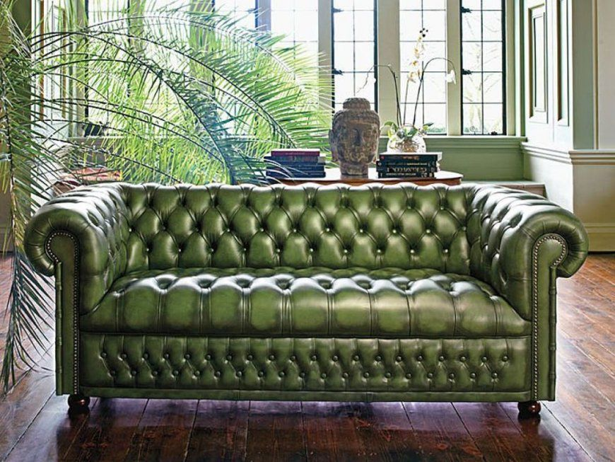 Sofa Design Fantastic Green Chesterfield Sofa Chesterfield Sofa von Green Leather Chesterfield Sofa Bild