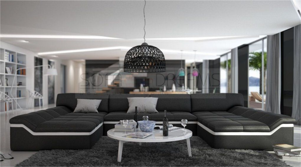 Sofa U Form Xxl Uform Free Couch U Form Quality Guarantee Coach Von