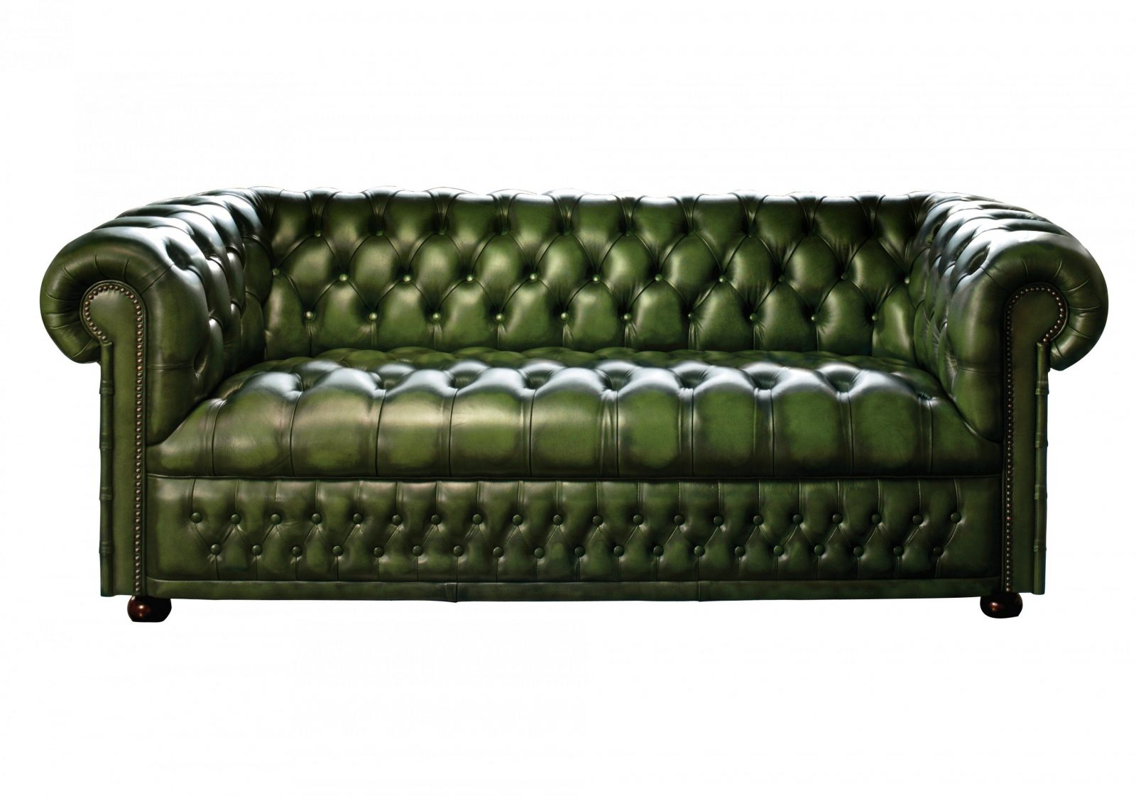 Sofas  Grey Leather Chesterfield Sofa Convertible Sofa Bed von Green Leather Chesterfield Sofa Photo