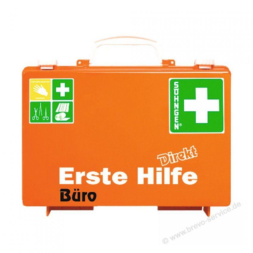 Söhngen Erste Hilfe Koffer Direkt Büro Din13157 Orange Brevoser von Söhngen Erste Hilfe Koffer Photo