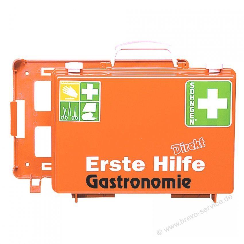 Söhngen Erste Hilfe Koffer Direkt Gastronomie Din13157 Orange Brevos von Söhngen Erste Hilfe Koffer Bild