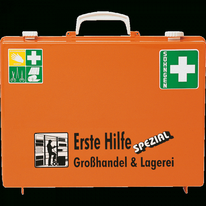 Söhngen Erste Hilfe Koffer Großhandel Lager  Erstehilfeshop von Söhngen Erste Hilfe Koffer Bild