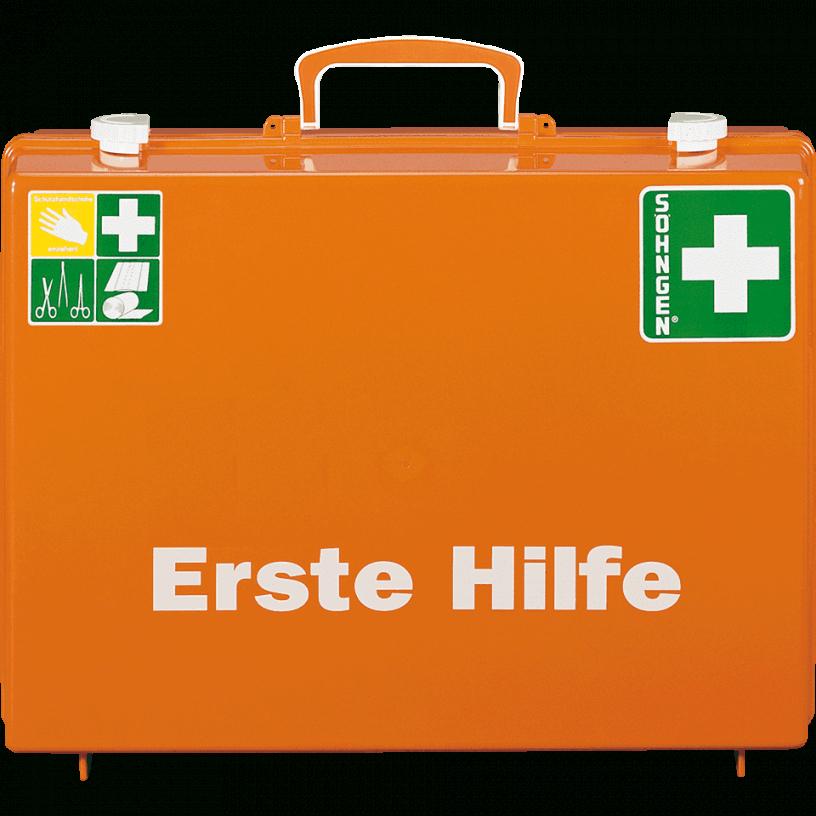 Söhngen Erstehilfekoffer Mt Mit Wandhalterung Orange Asr A43 von Söhngen Erste Hilfe Koffer Photo