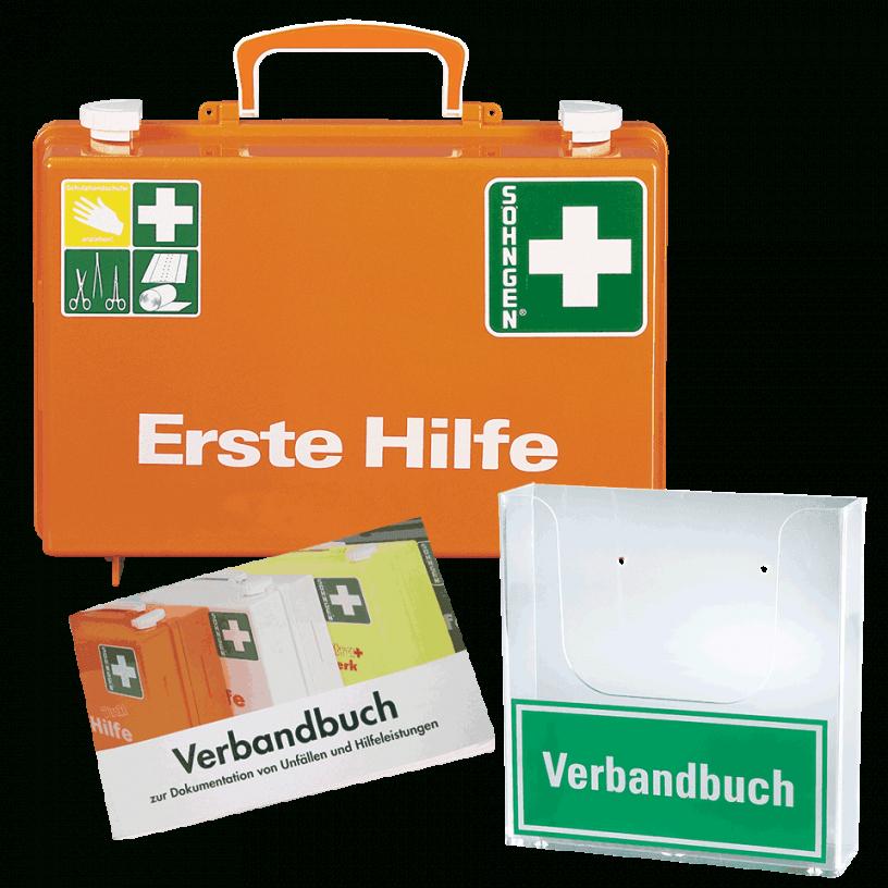 Söhngen Erstehilfekoffer Quick Inhalt Din 13157 Verbandbuch von Söhngen Erste Hilfe Koffer Bild