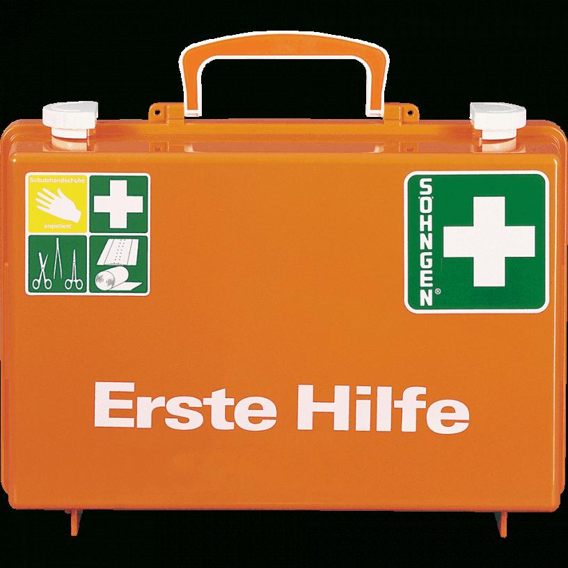 Söhngen Erstehilfekoffer Quick Mit Wandhalterung Orange Asr A4 von Söhngen Erste Hilfe Koffer Photo