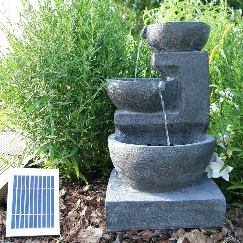 Solar Springbrunnen Fur Garten Brunnen In Betrieb Mit 3 von Garten Springbrunnen Selber Bauen Bild