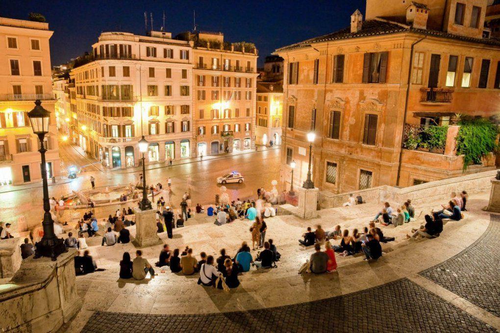 Spanische Treppe Rom – Geschichte Von Zu Hause Aus von Spanische Treppe Rom Gesperrt Bild